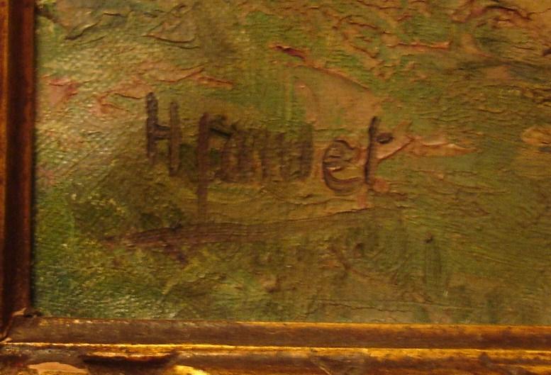 Signature Henri Jamet