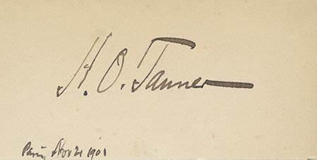 Signature Henry Ossawa Tanner
