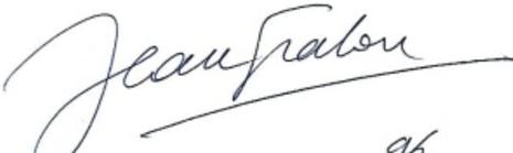Signature Jean Graton