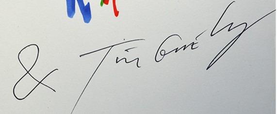 Signature Jean Tinguely