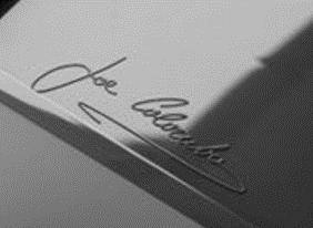 Signature Joe Colombo