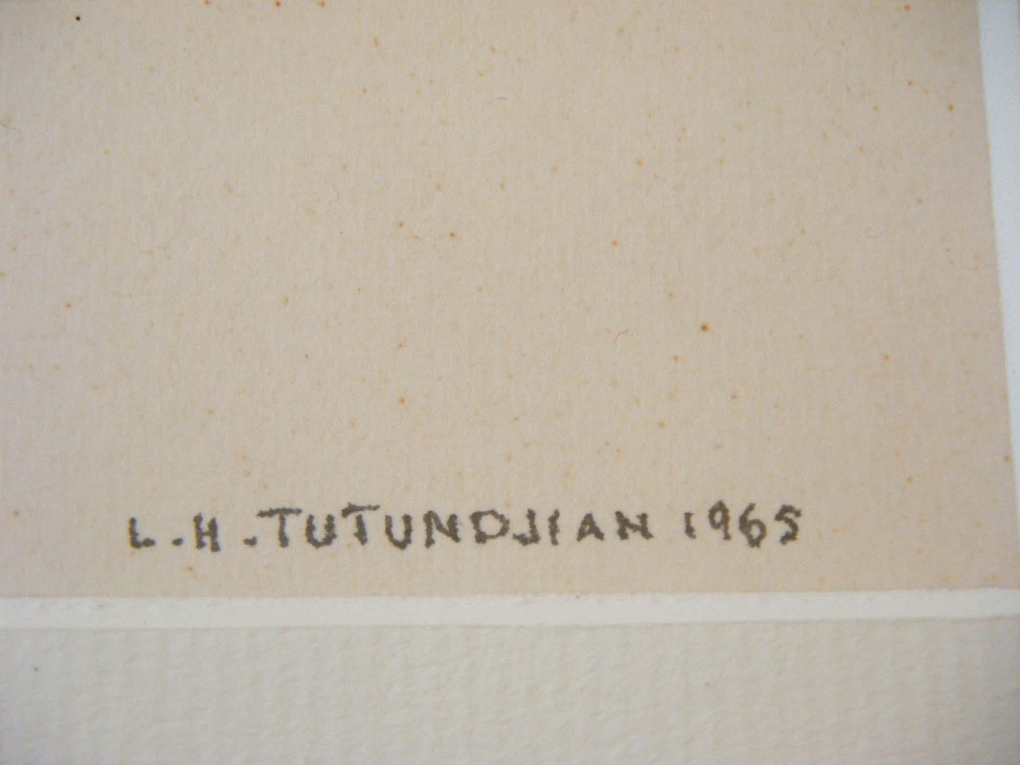 Signature Léon Arthur Tutundjian