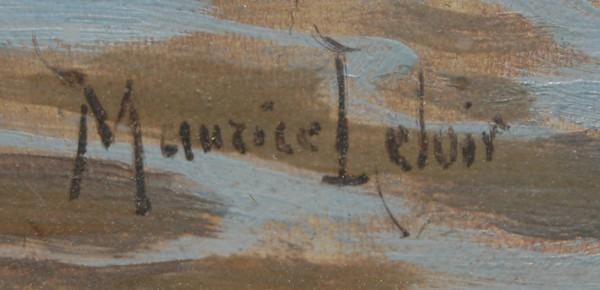 Signature Maurice Leloir