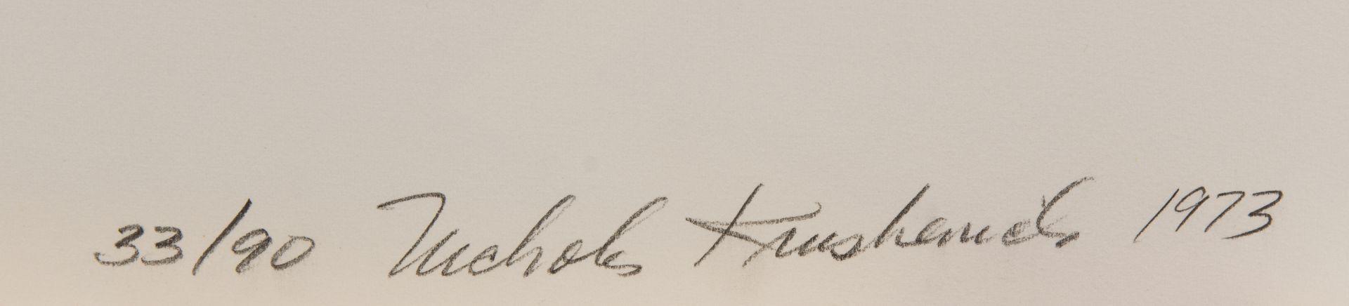Signature Nicholas Krushenick
