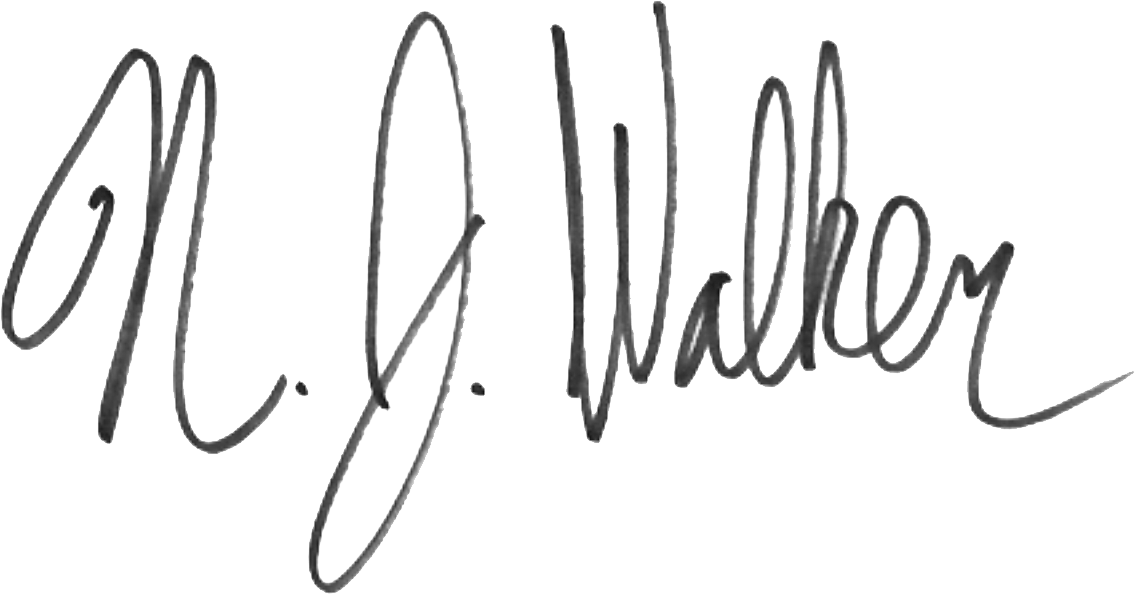 Signature Nick Walker