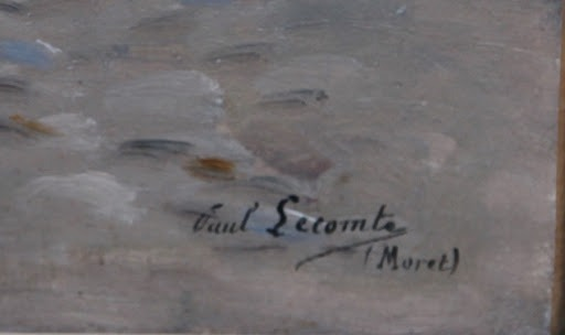 Signature Paul Lecomte
