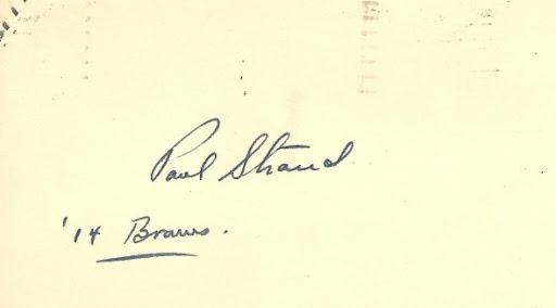 Signature Paul Strand