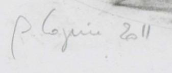 Signature Philippe Cognée