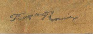 signature françois auguste ravier