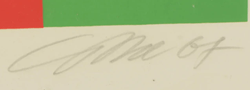 Signature Richard Paul Lohse