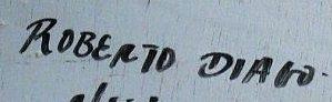 Signature roberto diago