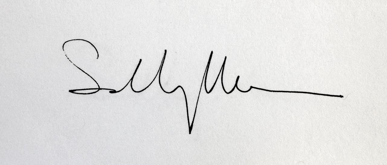 Signature Sally Mann