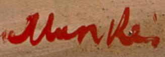Signature Sigmund Menkès