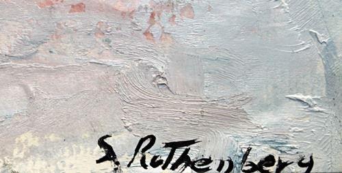 Signature Susan Rothenberg