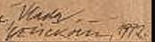 Signature Vladimir Velickovic