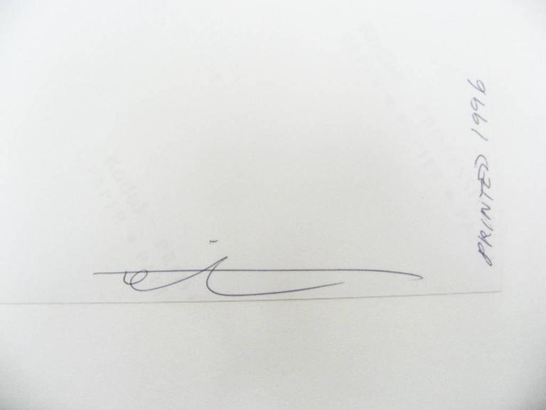 Signature William Christenberry