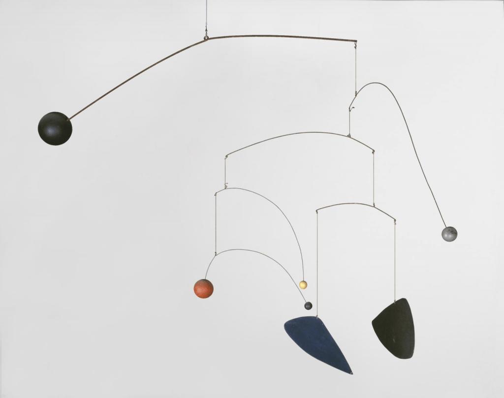 Alexander Calder, Mobile, vers 1932, Tate Gallery.