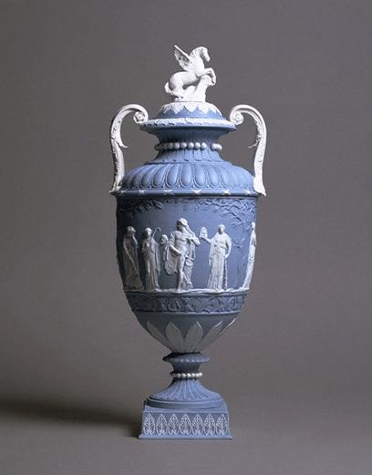 vase faience bristol