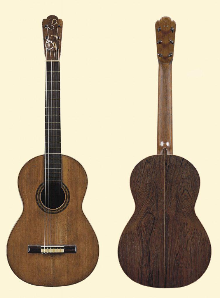 guitare sèche antonio de torres