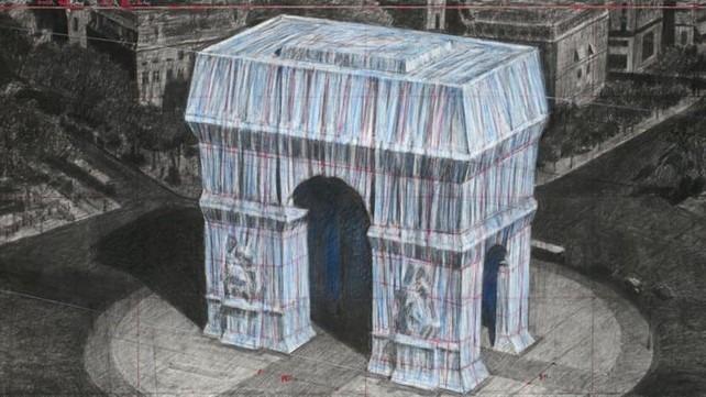 arc de Triomphe Christo