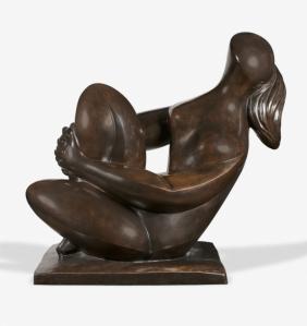 Sculpture Baltasar Lobo Casuero