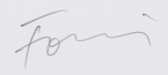 signature Günther FÖRG