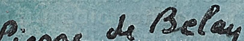 signature Pierre DE BELAY
