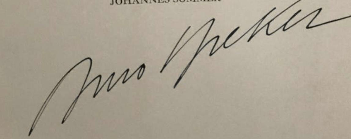 signature Arno BREKER
