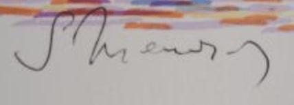 signature Serge MENDJISKY
