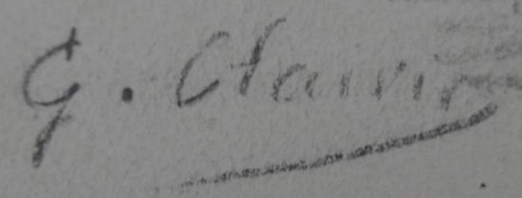 signature Georges CLAIRIN