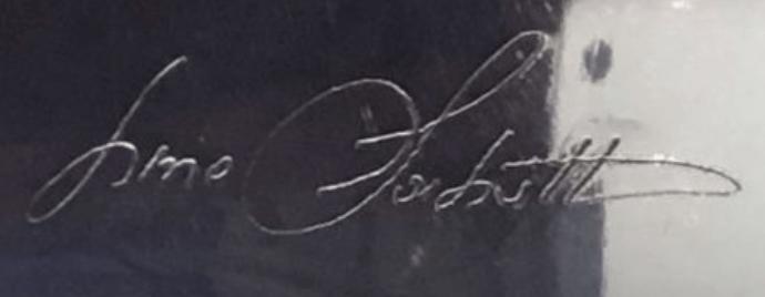 signature Lino SABATTIN