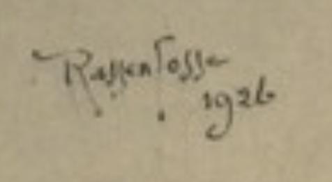 signature Armand RASSENFOSSE
