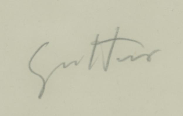 signature Renato GUTTUSO