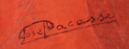 signature Joseph LACASSE
