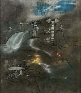 ROBERTO MATTA peinture