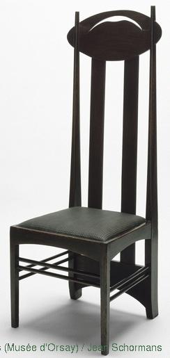 chaise art nouveau