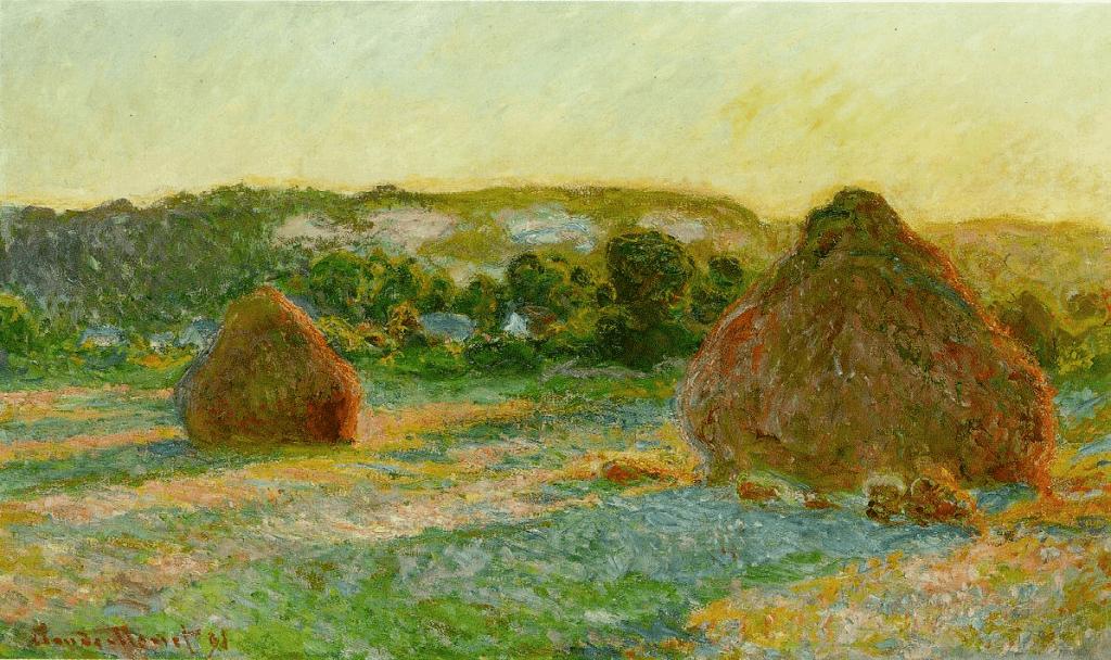 Claude Monet, Meules (fin d'été)