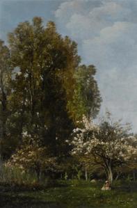 Peinture Karl Pierre Daubigny