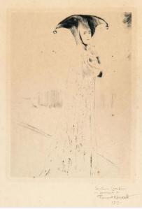 Estampe Fernand Khnopff