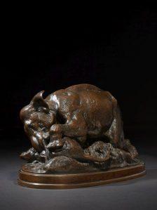 Sculpture Antoine Louis Barye