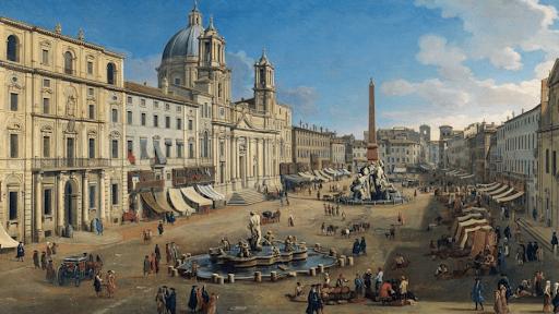 Caspar van Wittel, Piazza Navona