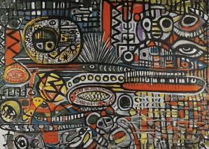 Peinture Fahr-el-Nissa Zeid