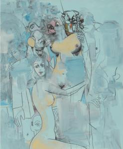 Peinture George Condo