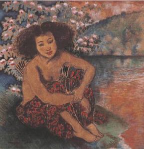 Dessin Georges Manzana-Pissarro