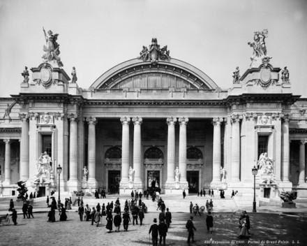 Grand Palais exposition 1900