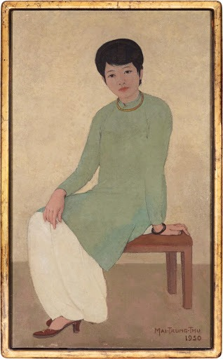 Mai Trung Thu, Portrait de Mademoiselle Phuong