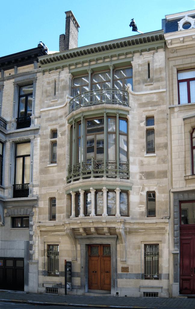 Hôtel style art nouveau