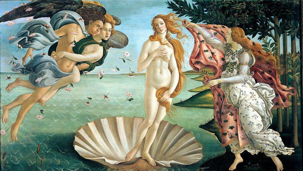 Naissance de Vénus Botticelli Lire un tableau analyse