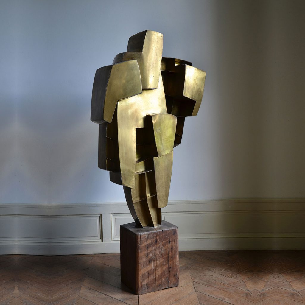 laiton sculpture