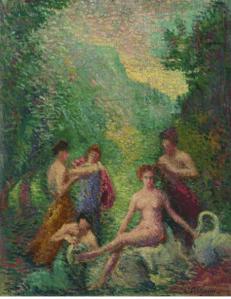 Peinture Hippolyte Petitjean